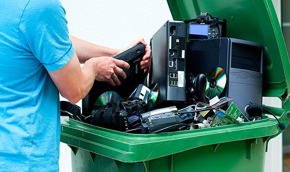 Утилизация электронного оборудования - как это выглядит на практике