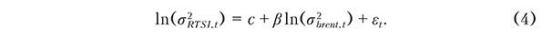 Модели зависимости волатильности